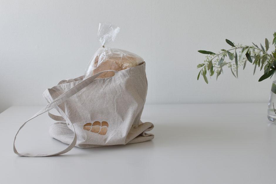 山型食パンのエコバッグ