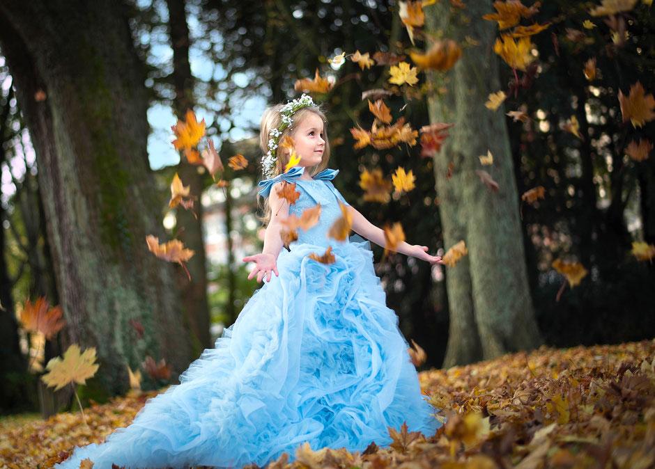 Prinzessinnenbilder von Ihrem Kind
