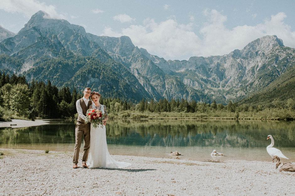 Hochzeitsfotograf Salzkammergut, Hochzeitsfotograf Almsee, Mara Pilz Fotografie