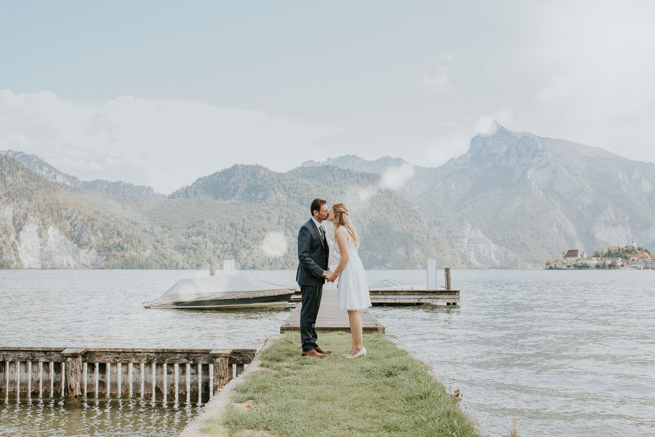 Hochzeit Spitzvilla, Traunkirchen, Gmunden, Altmünster, Hochzeitsfotograf Salzkammergut, Traunsee