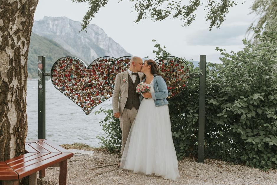 Hochzeitsfotografin Oberösterreich, Schloss Ort, Gmunden, Gmundnerberghaus
