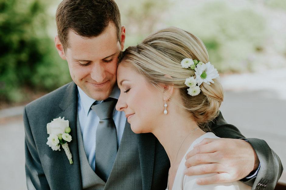 Brautpaarfoto, Hochzeit in Atzbach, Oberösterreich