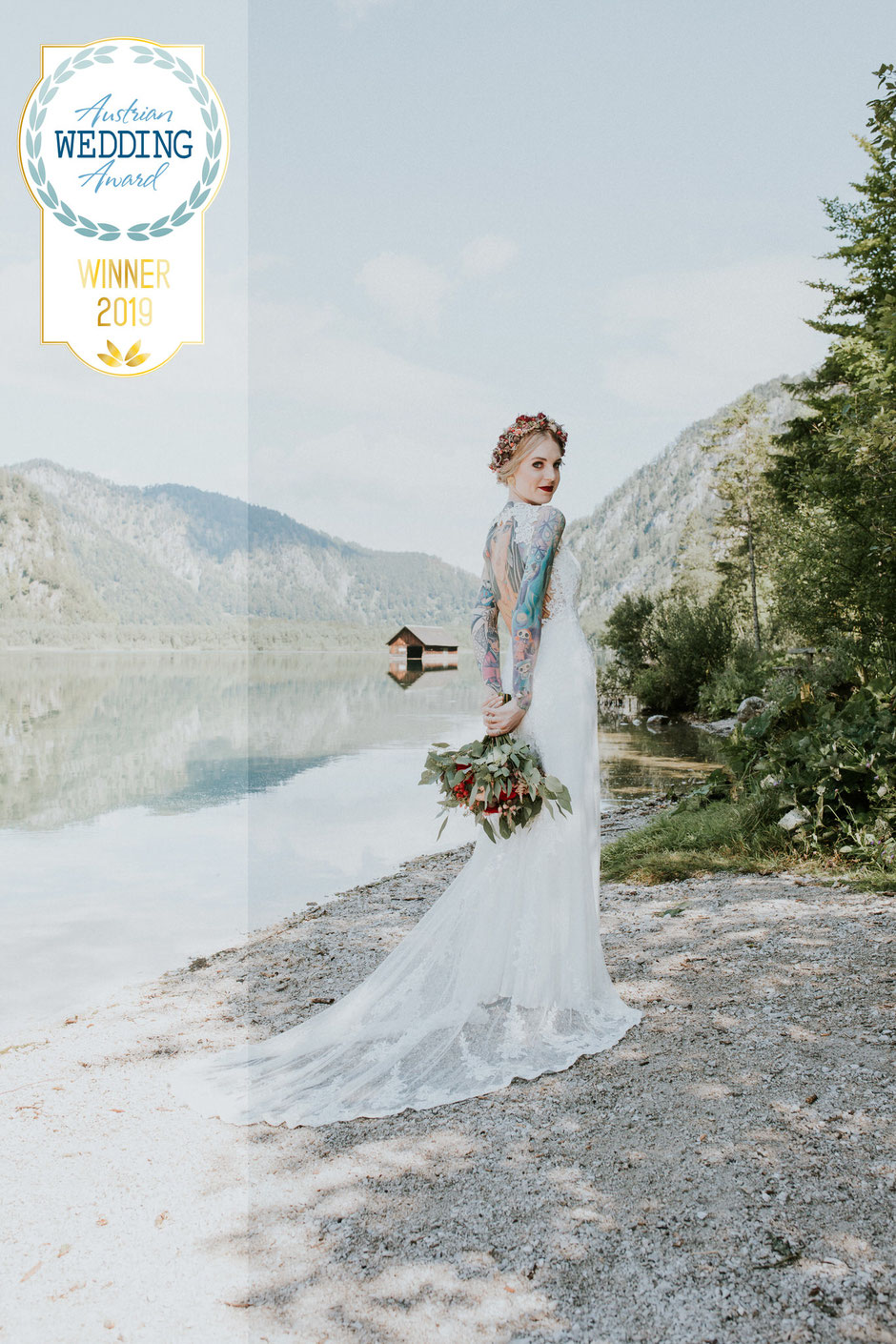 Hochzeitsfotografin Oberösterreich, Almsee, Destination Wedding, Bohohochzeit, Austrian Wedding Award