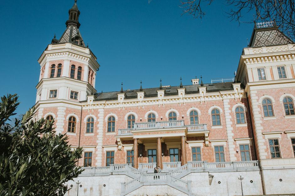 Schloss Traunsee Württemberg, Altmünster, Gmunden, Hochzeitsfotograf Salzkammergut, Oberösterreich, Vöcklabruck