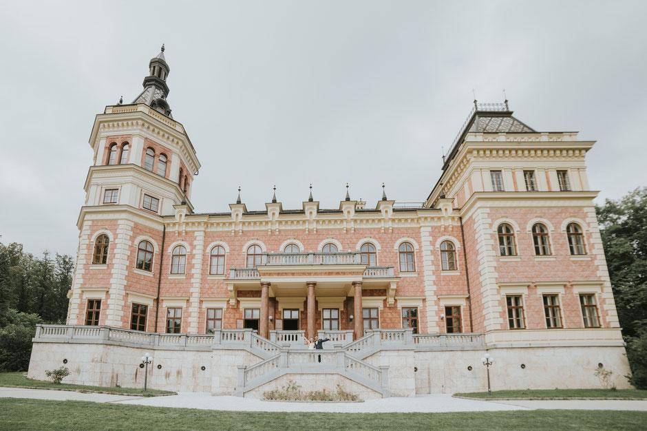 Hochzeit Schloss Traunsee, Mara Pilz Fotografie, Hochzeitsfotograf Gmunden