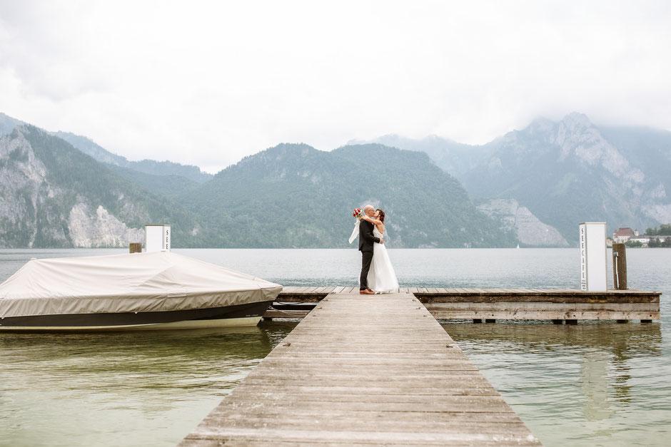 Hochzeit Spitzvilla Traunkirchen, Hochzeitsfotograf Salzkammergut, Hochzeitsfotograf Gmunden, Hochzeitsfotografin Oberösterreich