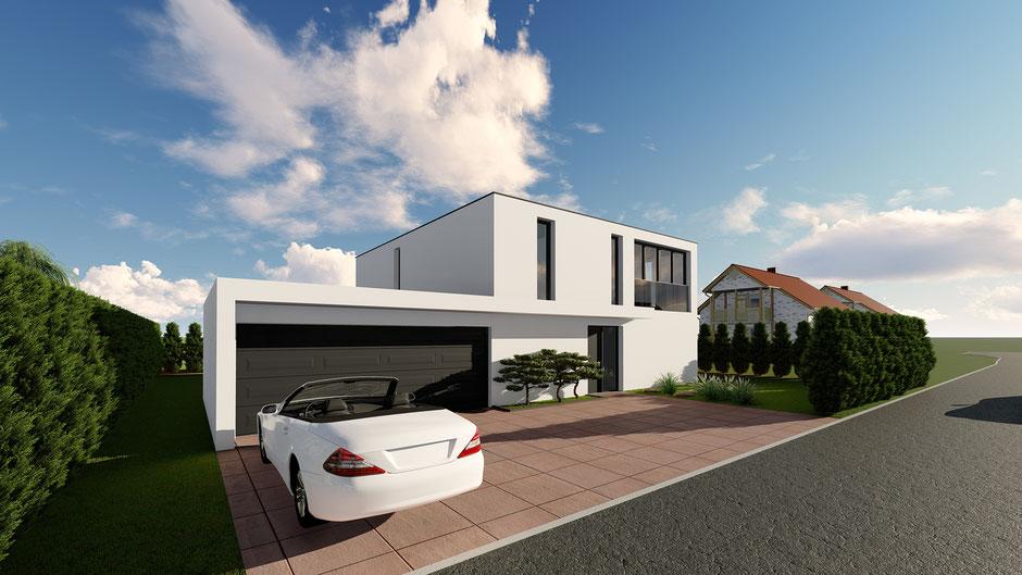 Neubau Einfamilienhaus Däniken - S&S Totalunternehmung | Ihr Partner für Gesamtleistungen