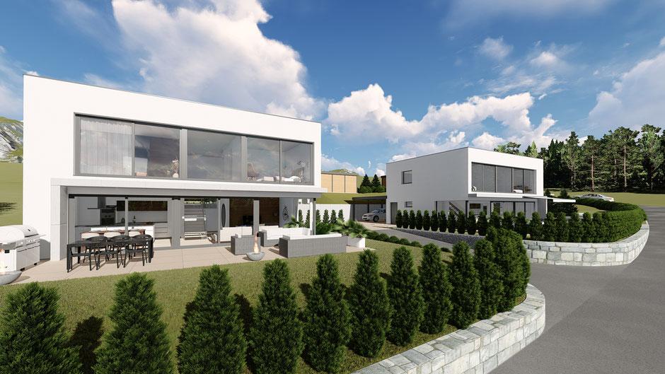 Neubau Einfamilienhaus Mümliswil- S&S Totalunternehmung | Ihr Partner für Gesamtleistungen