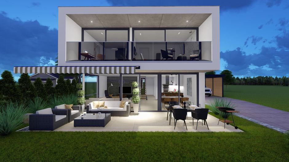 Neubau Einfamilienhaus Inkwil - S&S Totalunternehmung | Ihr Partner für Gesamtleistungen