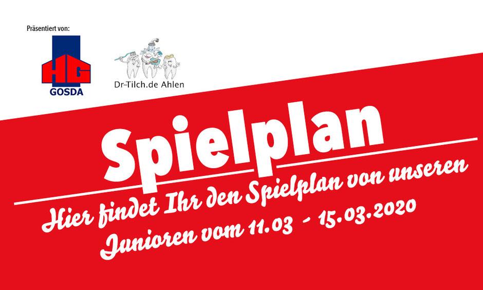 Rot Weiss Ahlen Junioren Spielplan