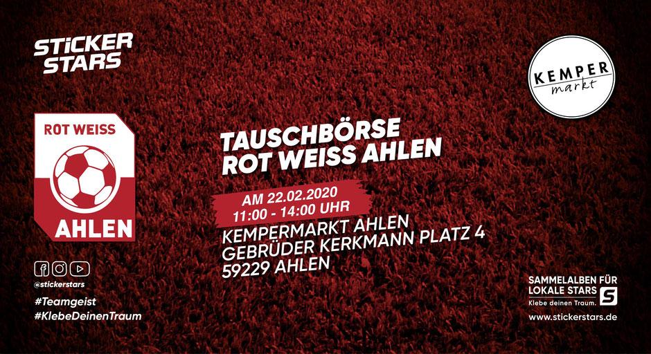 Tauschbörse Rot Weiss Ahlen Kempermarkt