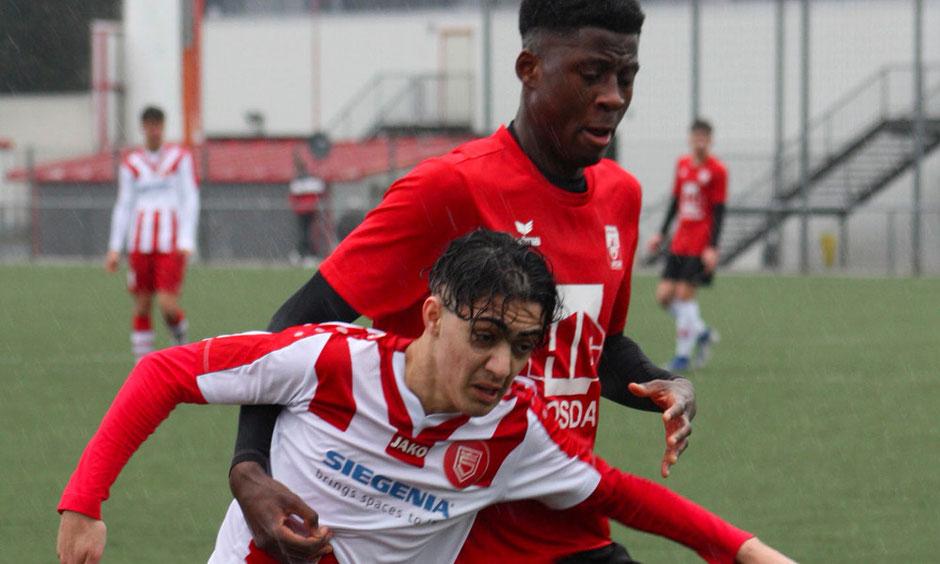 Rot Weiss Ahlen U17 B1 gegen Sportfreunde Siegen