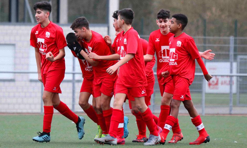 Rot Weiss Ahlen U15 C1 gegen Sportverein Westfalia Rhynern e.V.