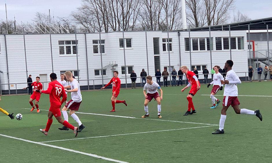 Rot Weiss Ahlen U17 B1 gegen 1. FC Gievenbeck