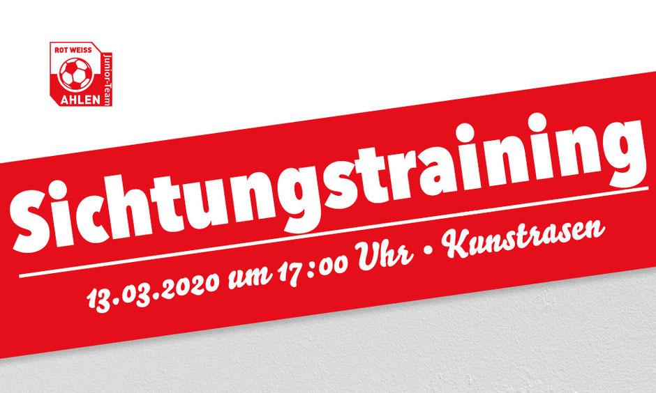 Rot Weiss Ahlen Sichtungstraining Jahrgänge 2009/10