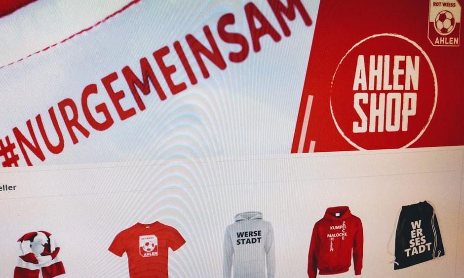 Rot Weiss Ahlen, Fanshop