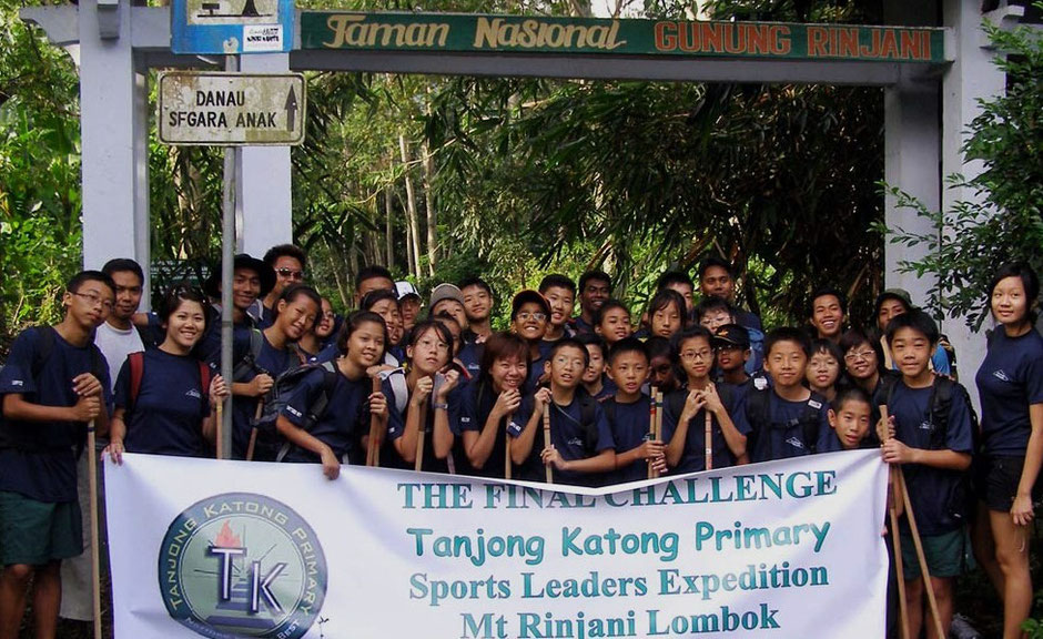 Tanjung Katong Primary School Singapore during rinjani trek expedition