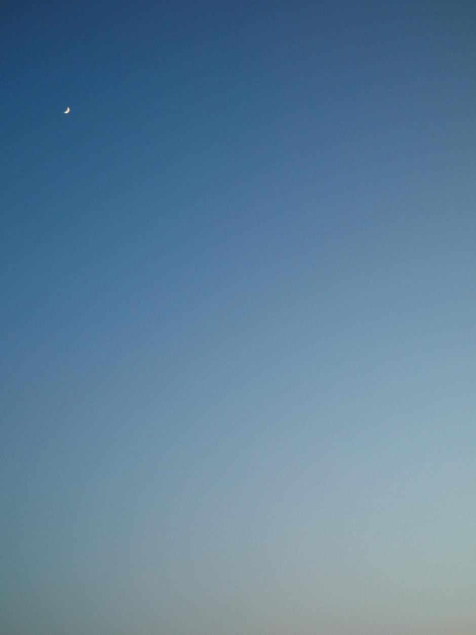garasu no taneの印象に残った風景、美しい空と雪景色