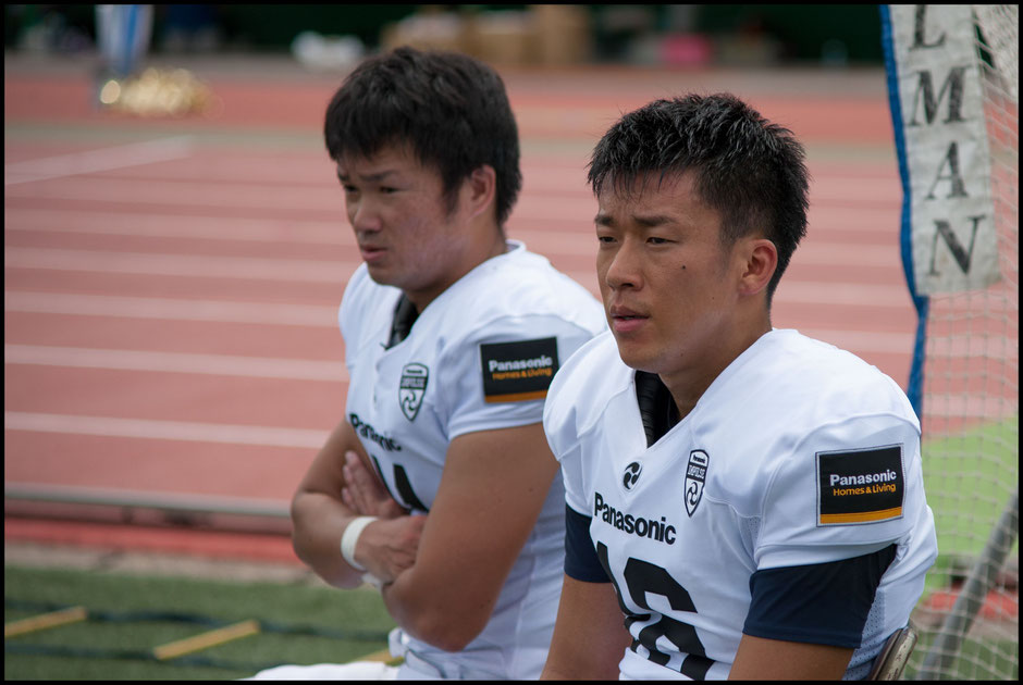The Saeki brothers handle all Impulse's kicking and punting duties  - Lionel Piguet, Inside Sport: Japan, Sept 10, 2017
