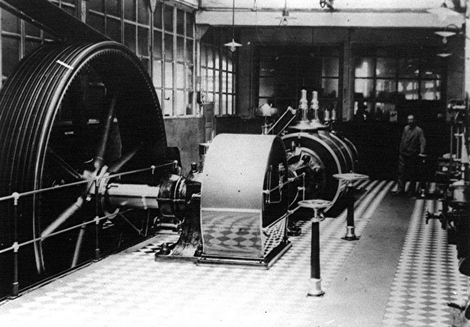 Dampfmaschine 1896, Hersteller  Heinrich Rockstroh [11]