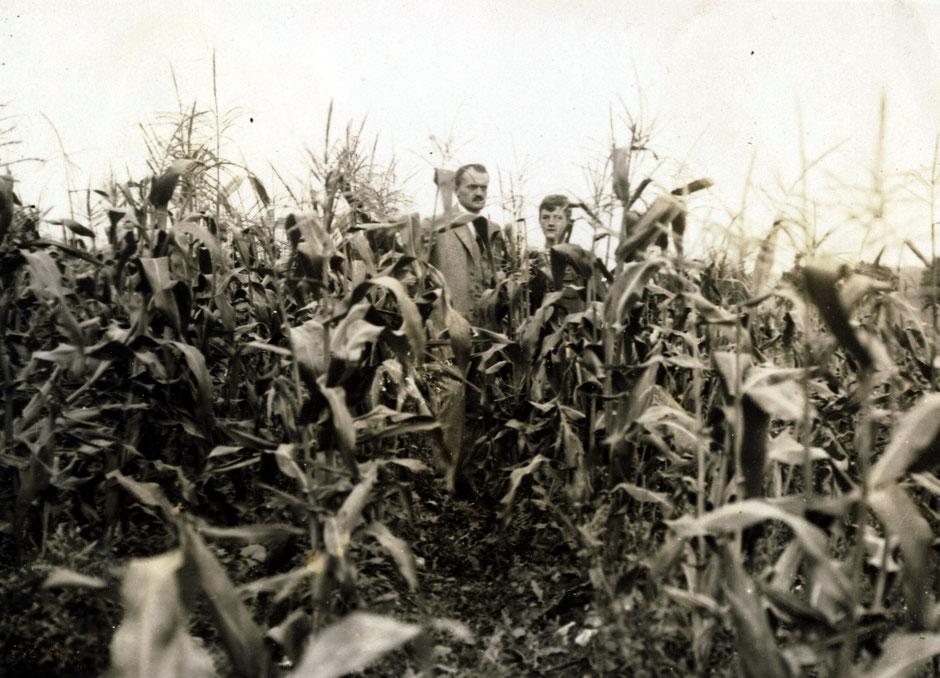 1923 Oskar und Werner