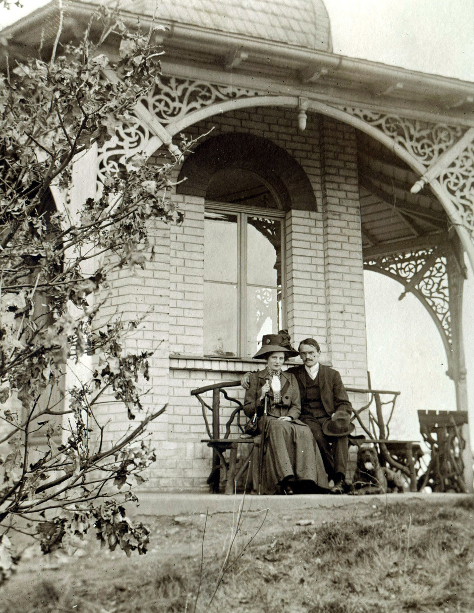 1914 Elsa und Oskar