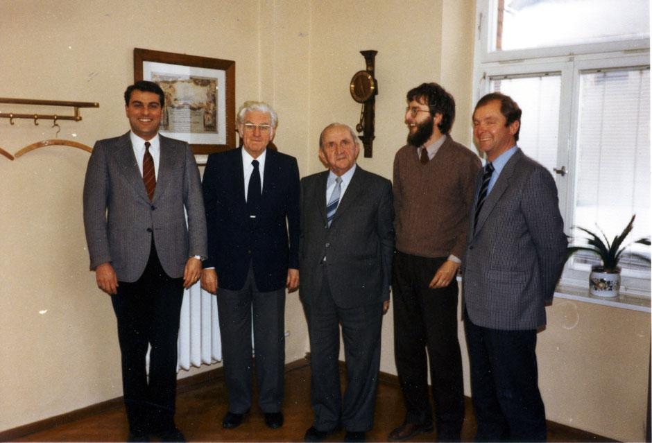 1982 von li Peter, Werner, Krause, Georg III, Erhard