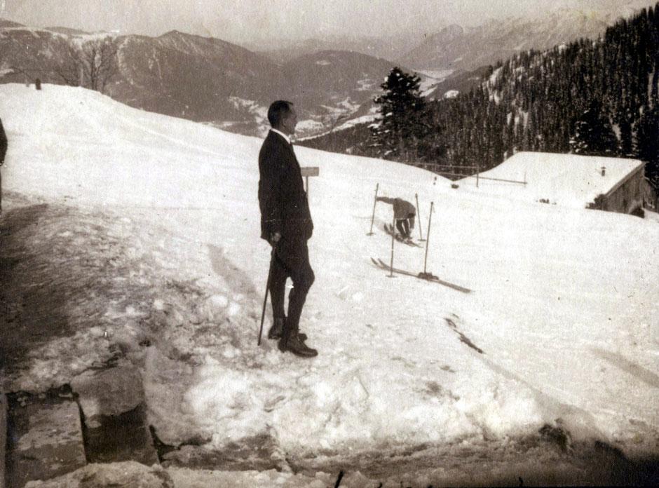 1925 Ausflug nach Partenkirchen