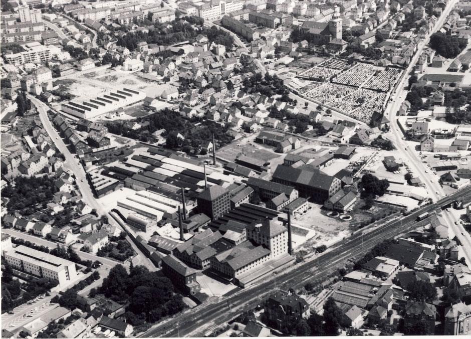 1977 Luftaufnahme