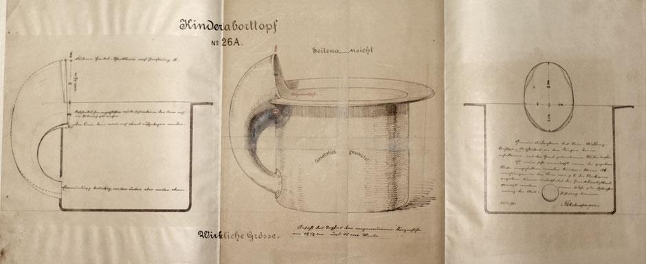 Kinderaborttopf 26A von 1895 [Quelle Museum Theuern]
