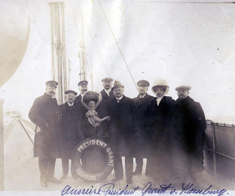 Anreise nach NewYork auf der President Grant