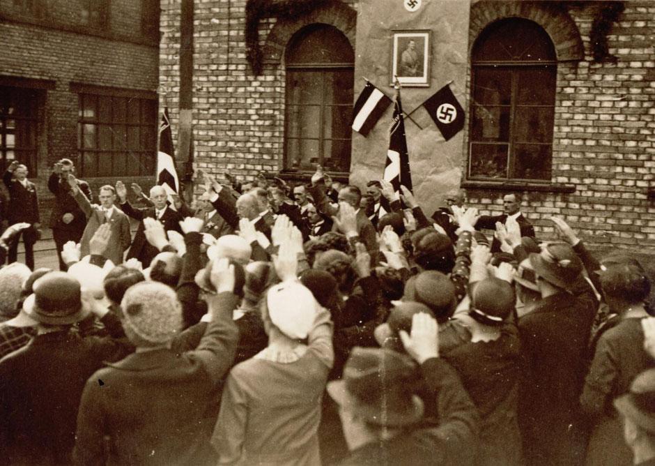 """1.Mai 1934 """"Verlesung einer Proklamation"""""""