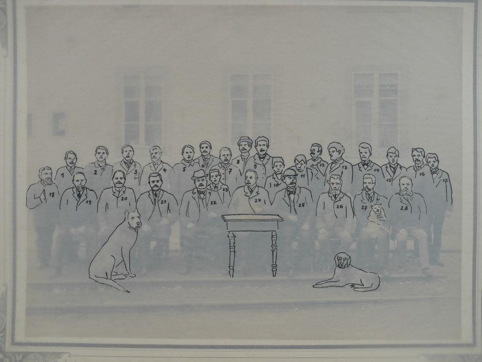 Deckblatt mit Verzeichnis der Personen