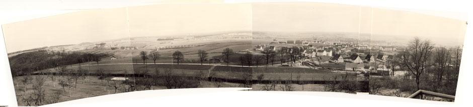 1962 Blick nach Süden