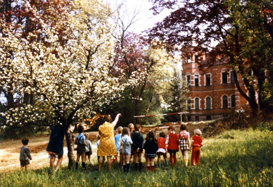 1971 Abriss Ausflug vom Kindergarten