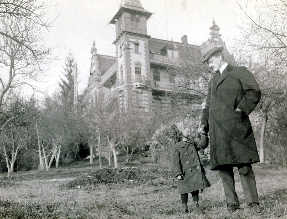 1913 Oskar mit Sohn Werner