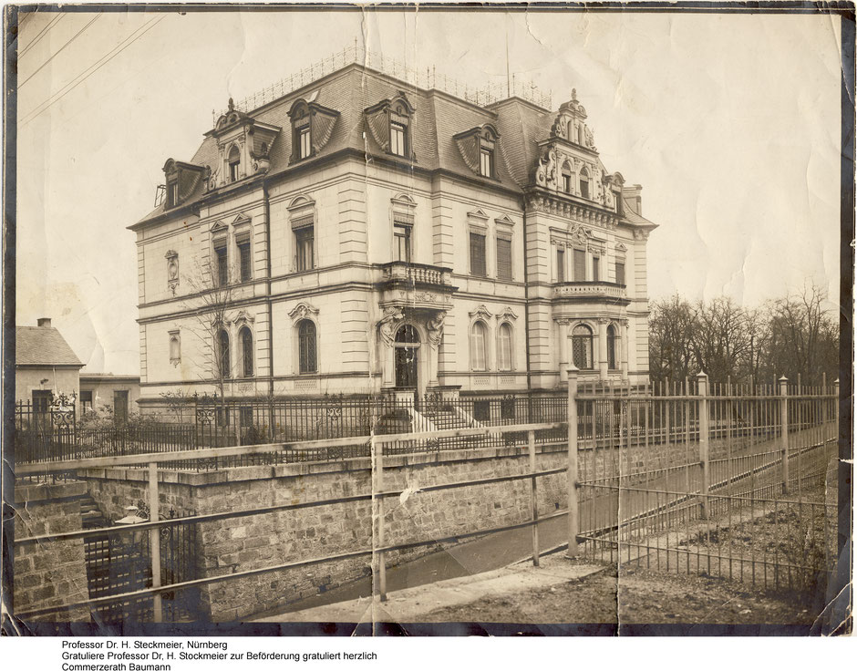 Wintervilla ca. 1900