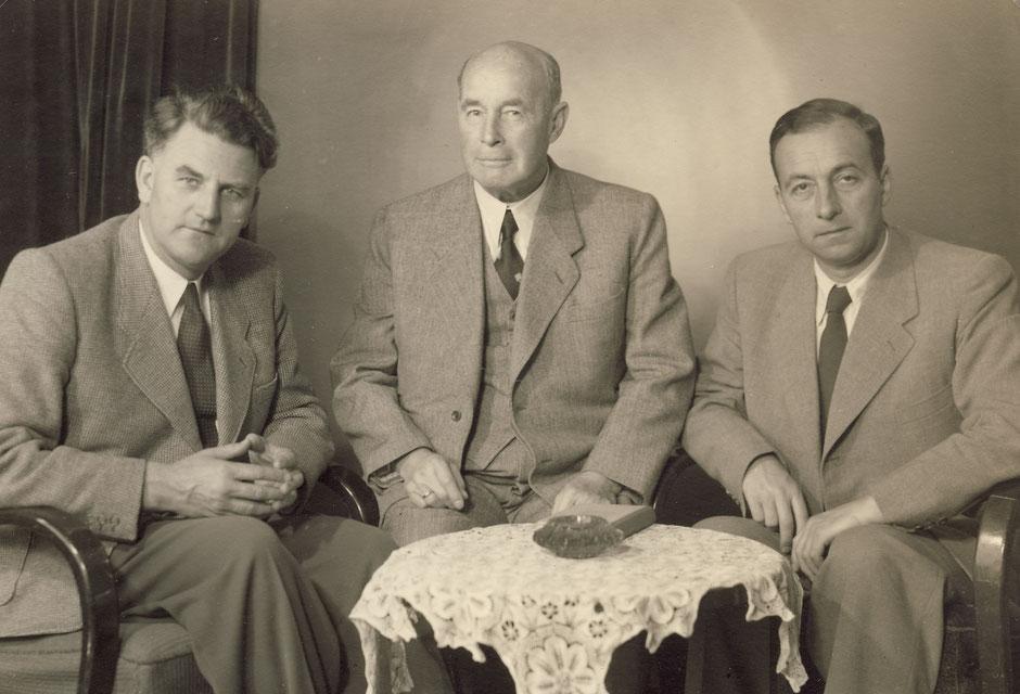 Werner, Georg II und Kurt.
