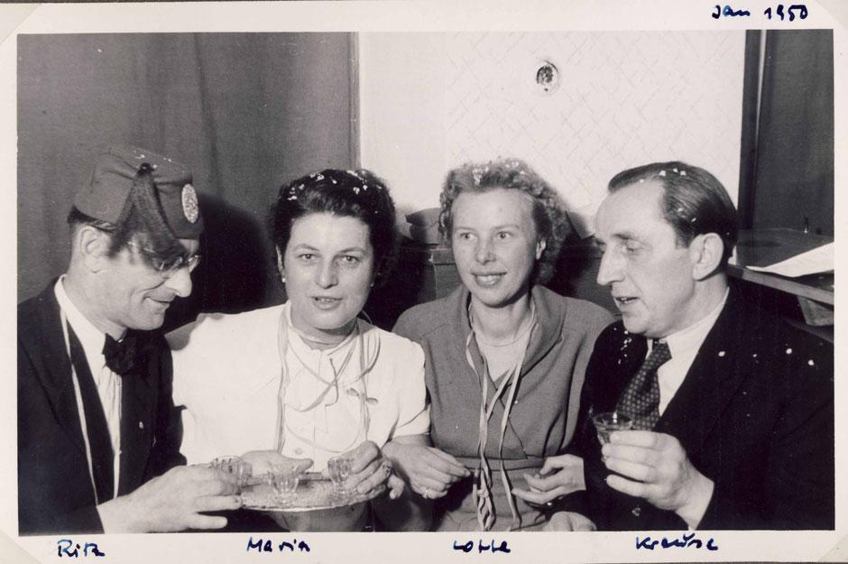 Fasching 1950