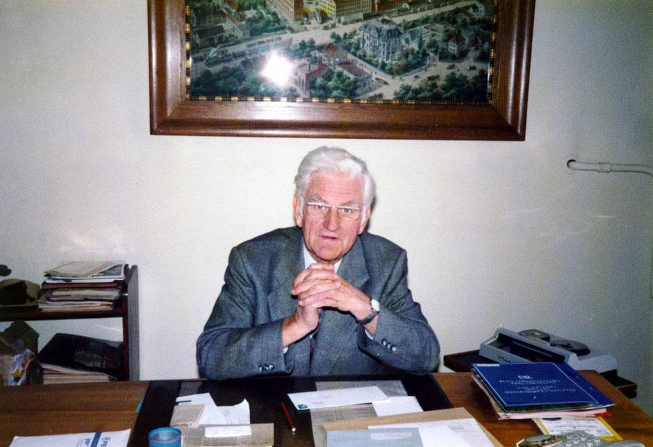 1983 Letzter Arbeitstag von Werner