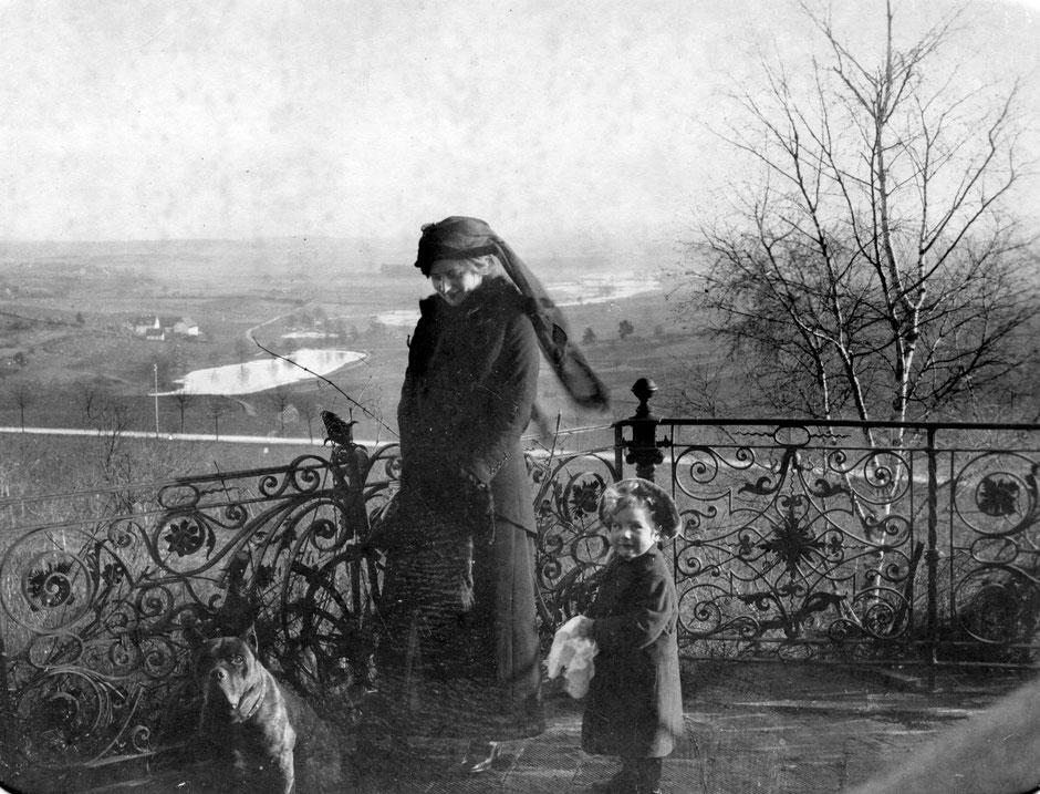 1913 Else mit Werner