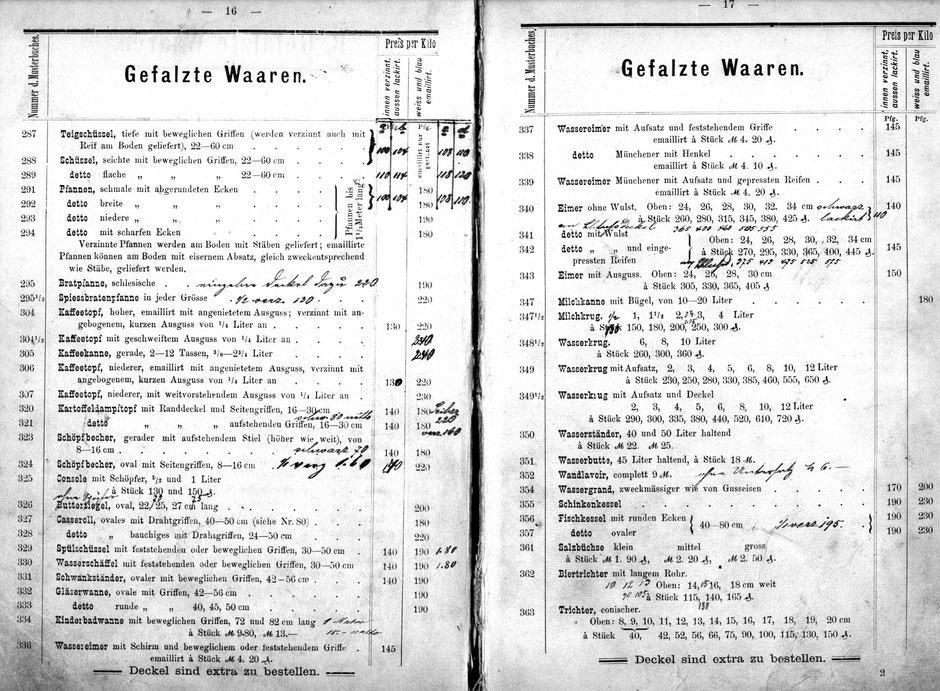 Katalog von 1884 [11]