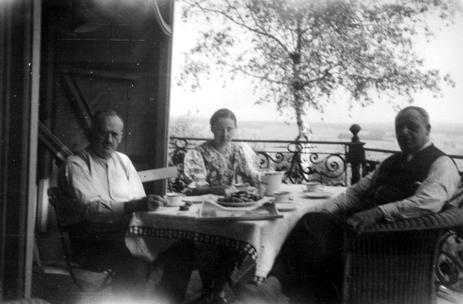 1941 Besuch von Priehäusers
