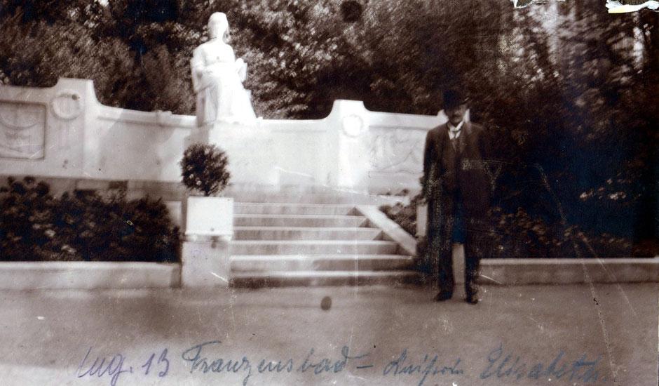 August 1913 Franzensbad - Kaiserin Elisabeth (Hotel)