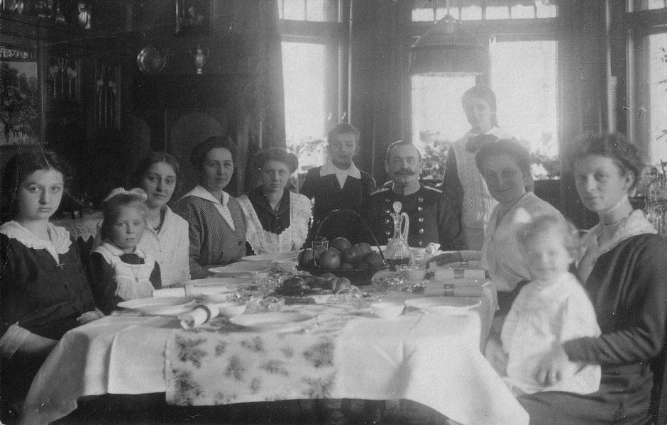 1915 Besuche Familie Rubner