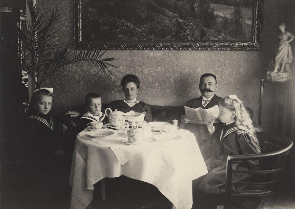 1907 von li Else,Hans, Babette, Erhard I, Brunhilde