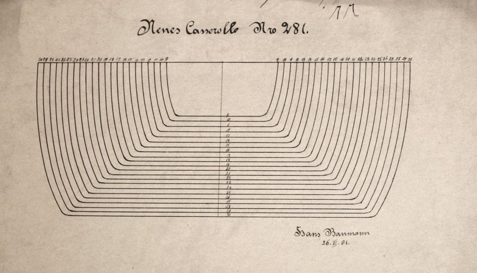Neue Casserolle Nr.281 Zeichnung von Hans Baumann von 26.11.01 [10]