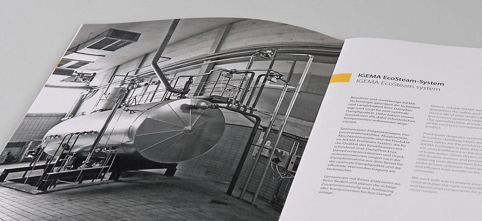 Produktbroschüre Igema