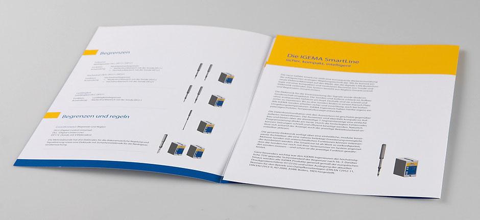 Produktblätter Igema