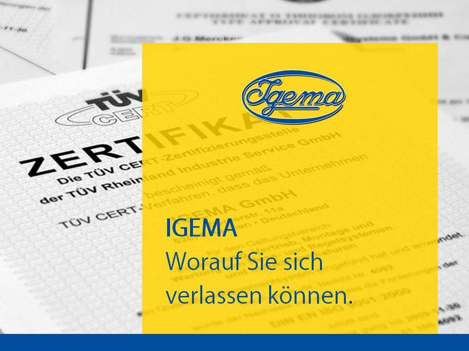 Präsentation Igema